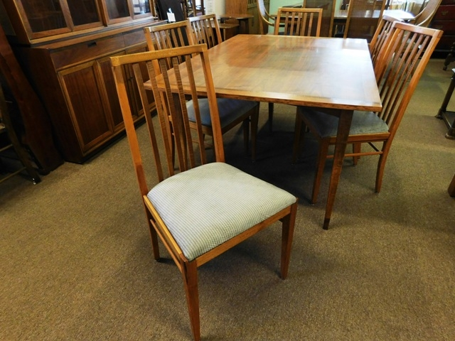 THOMASVILLE DININGROOM SET, SET 6 CHAIRS