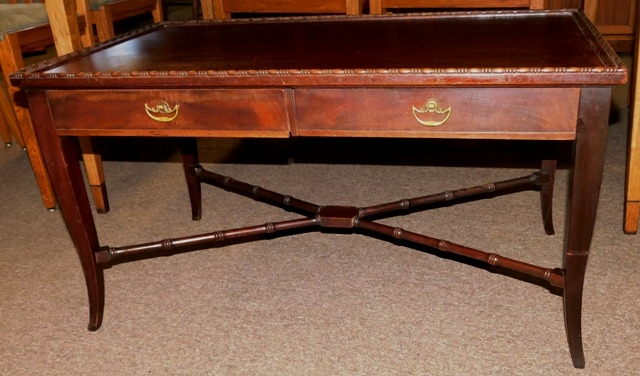 IMPERIAL FURNITURE 1940-50's 2-DRAWER COFFEE TABLE
