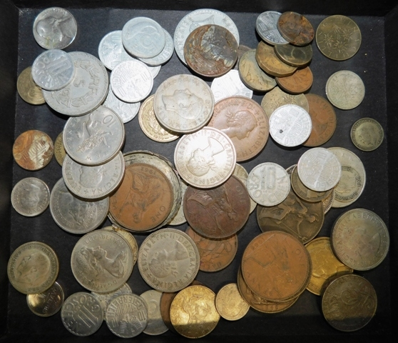 COLLECTION FOREIGN COINS