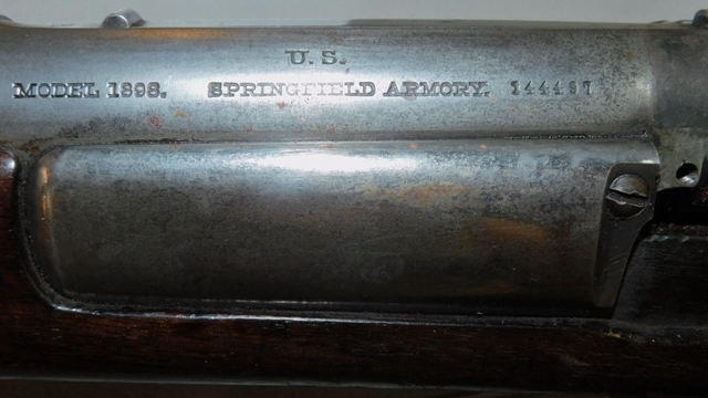 View 3~U.S. SPRINGFIELD ARMORY RIFLE, MODEL 1898, UNK CAL.