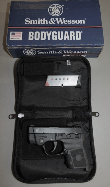 SMITH & WESSON BODYGUARD PISTOL, 22 CAL, NO MODEL #