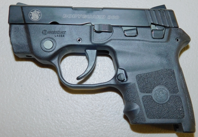 View 2~SMITH & WESSON BODYGUARD PISTOL, 22 CAL, NO MODEL #