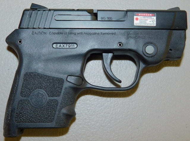 View 3~SMITH & WESSON BODYGUARD PISTOL, 22 CAL, NO MODEL #