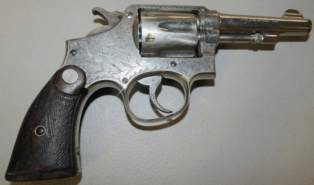View 2~SMITH & WESSON REVOLVER, 38 SPECIAL CAL, ENGRAVED