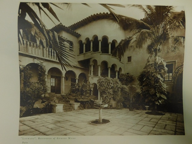 "View 2~""fLORIDA ARCHETECTURE OF ADDISON MIZNER"" with Into. by Ida M. Tarbell, 1928"