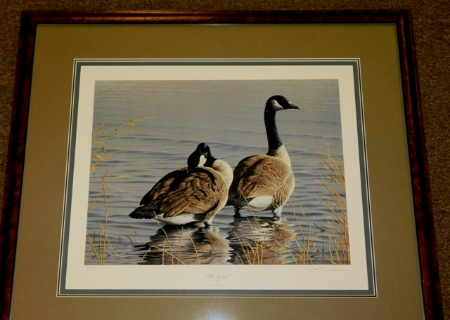 """""""THE SENTRY"""" BY NEAL ANDERSON, 1987 Fr-Matted Print 75/200"""