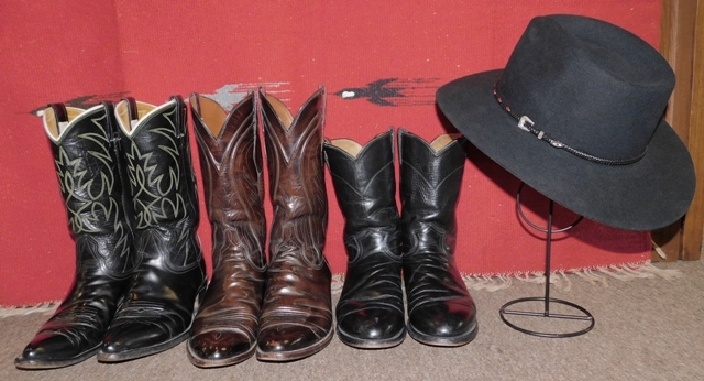 STETSON XXX DIAMOND JIM HAT + NOCONA, LUCCHESE & JUSTIN BOOTS