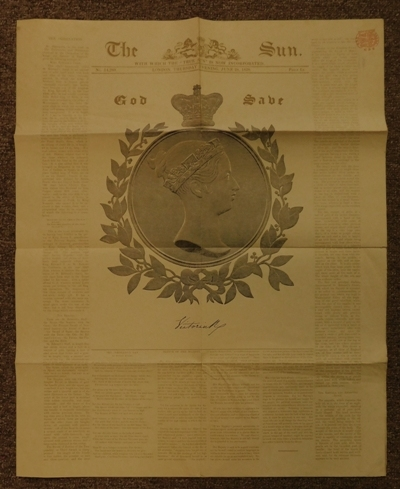 """View 4~""""The History of The Coronation"""" + Facsimile Newspaper from 1838"""