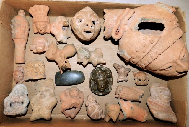 COLLECTION OF MAYAN ARTIFACTS