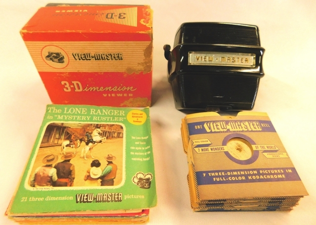 VIEW MASTER 3-D VIEW & REELS