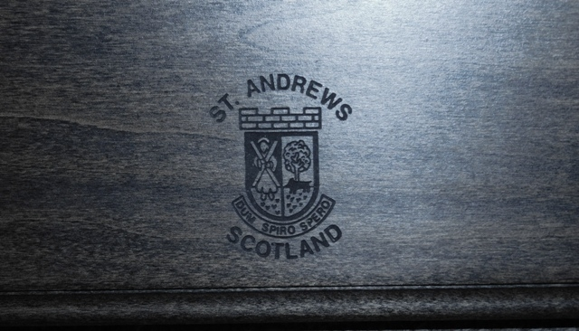 #2 ~ ST. ANDREWS PUTTER, HALLEY LONDON & ST. ANDREWS