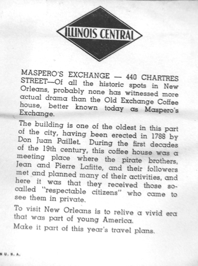"""#2~ FRAMED NEW ORLEANS PRINTS  """"440 CHARTRES ST."""" DATING TO 1788 and """"MADAM JOHN'S"""" DATING TO 1726"""