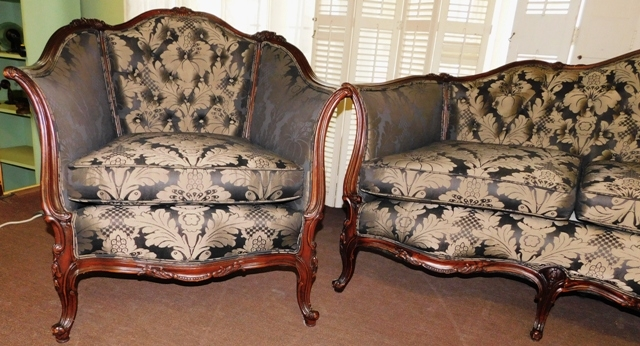 LOW BACK MATCHING CHAIR TO SOFA