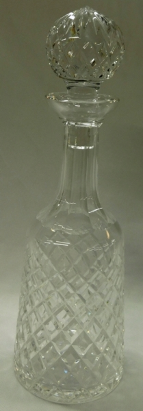WATERFORD DECANTER W/STOPPER