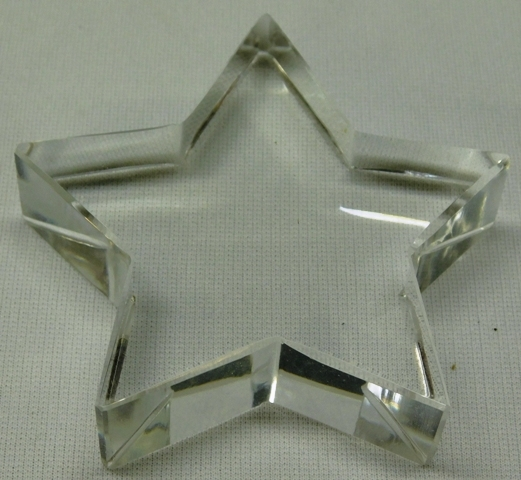 TIFFANY & CO. CRYSTAL STAR PAPERWEIGHT