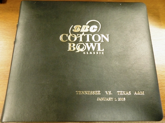 SBC COTTON BOWL CLASSIC PHOTO ALBUM ~ TENN. vs A&M ON 1-1-05