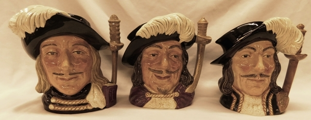 ROYAL DOULTON TOBY JUGS