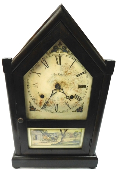 New Haven Mantel Clock, T&S