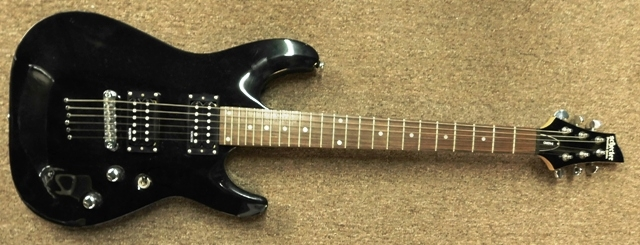 SCHECTER ELECTRIC GUITAR WITH HARD CASE