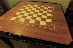 #2~ ITALIAN SORRENTO MARQUETRY GAME TABLE