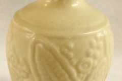 "ROOKWOOD 5"" WHITE VASE, PATTERN 6444, 1937, XXXVII"