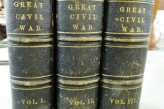 """3 VOLUMES """"GREAT CIVIL WAR"""" A History of the Late Rebellion"""