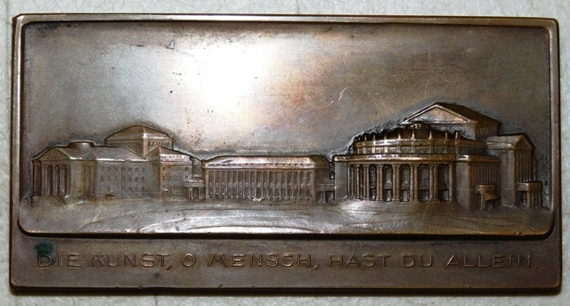 "View 2~IMPERIAL GERMAN COPPER PLATE (1-1/2X3""), 1912"