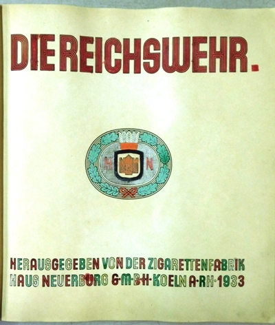 View 2~DIE REICHSWEHR Picture Album published in 1933