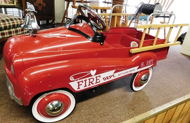 FIRE DEPARTMENT PEDAL CAR