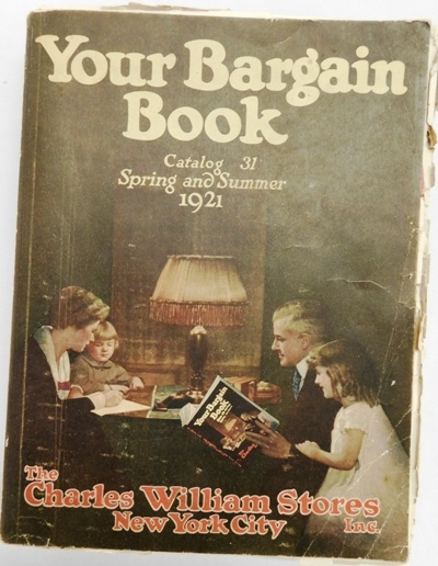"""YOUR BARGIN BOOK"" 1921 CATALOGUE"