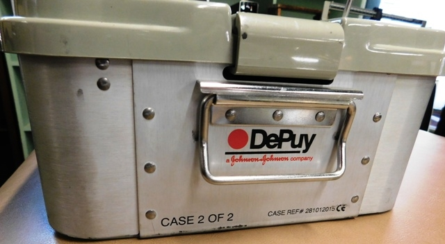 View 7~3 SUITCASES~ DEPUY ACE ORTHOPAEDIC TOOLS