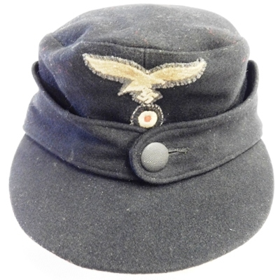 GERMAN-NAZI ENLISTED M43 WOOD FIELD CAP