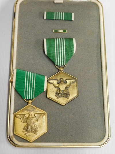 2 US MILITARY MERIT DECORATIONS