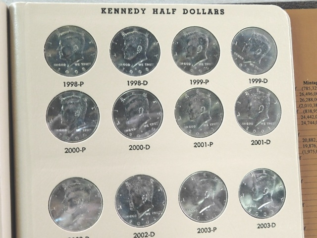 View 2~1964-2014 KENNEDY HALF DOLLAR COLLECTION
