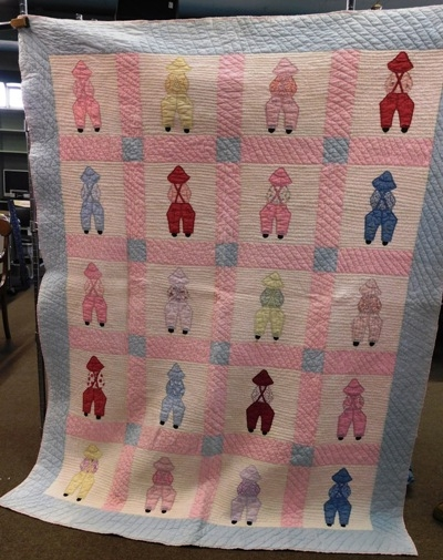 LITTLE DUTCH BOY QUILT - 66x76""