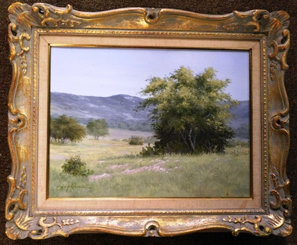 OIL ON CANVAS (Landscape) by Joe G. Russell