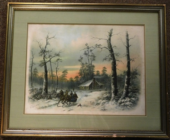 WINTER SCENE PRINT By Chandler