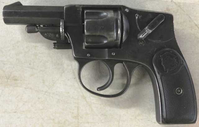 ILLINOIS ARMS HAMMERLESS REVOLVER, 32cal, OCTAG. BARRELL