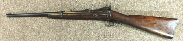 1873 US SPRINGFIELD CARBINE, CLEANING ROD IN STOCK