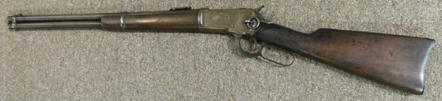WINCHESTER-MODEL 1892 RIFLE, PTD. OCT.14,1884, LEVER ACTION