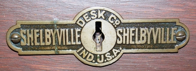 """View 2~52"""" S-CURVE 1900'S ROLL TOP DESK"""