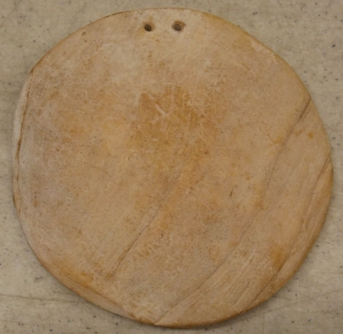 CLAM SHELL GORGET