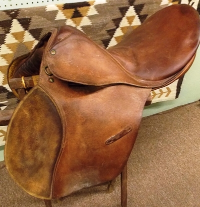 OFFICER'S TRAINING SADDLE M1926, SEAT ONLY...
