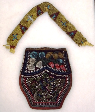 ROQOUIS BEADED BAG + WARBONNET HEAD BAND