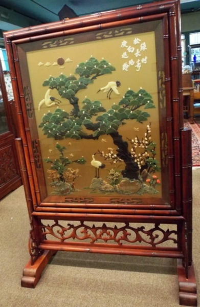 """VIEW 3~56x38"""" DOUBLE-SIDED ORIENTAL SCREEN"""