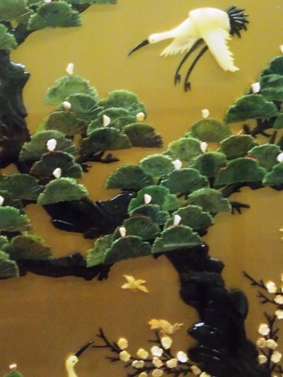 """VIEW 5~56x38"""" DOUBLE-SIDED ORIENTAL SCREEN"""