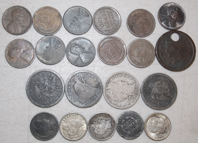 COLL 1845-1940's COINS (1 LOT)