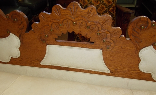 VIEW 2~ 1880's DAVENPORT-DAYBED