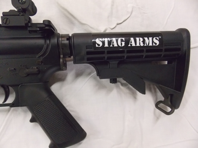 View 2~STAG ARMS 5.56mm RIFLE