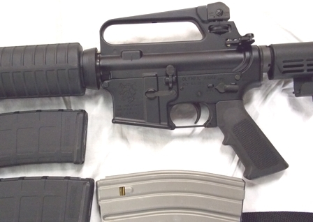 View 2~OLYMPIC ARMS RIFLE, MULTI 2013 CALIBUR